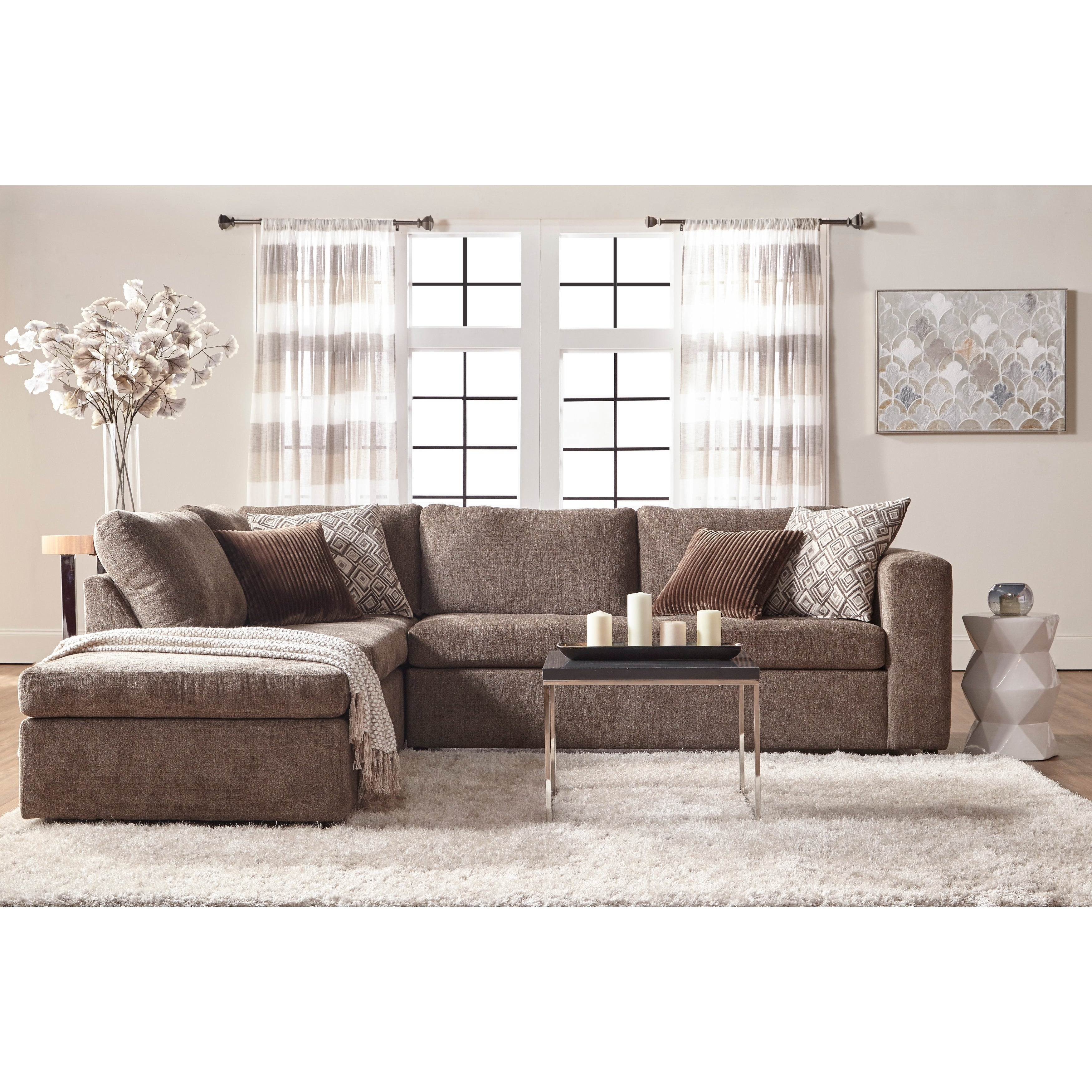 Left Hand Facing Sectional Sofa