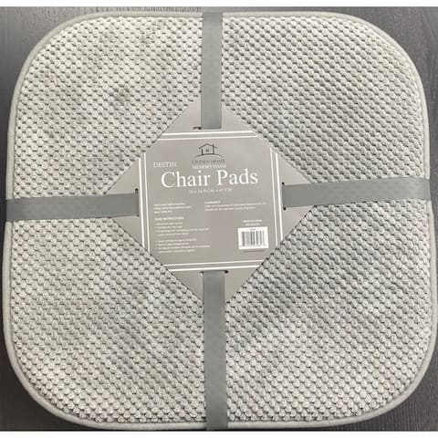 Destiny Memory Foam 2PK Chair Pads