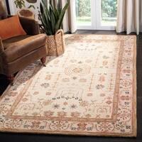 "Safavieh Handmade Anatolia Oriental Treasure Sand Hand-spun Wool Rug - 9'6"" x 13'6"""