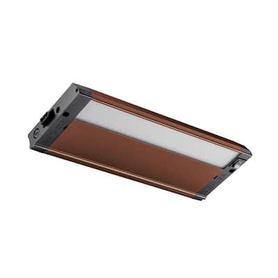 """Kichler Lighting 4U 12"""" 3000K LED Under Cabinet Light Textured Bronze"""