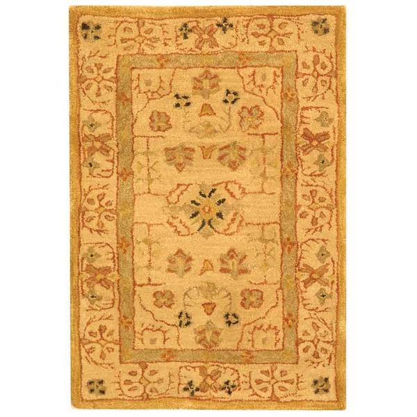 Safavieh Handmade Treasured Sand Wool Rug (2' x 3')