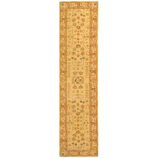 Safavieh Handmade Anatolia Oriental Treasure Sand Hand-spun Wool Rug (2'3 x 8')