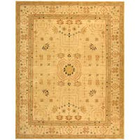 Safavieh Handmade Anatolia Oriental Treasure Sand Hand-spun Wool Rug - 5' x 8'