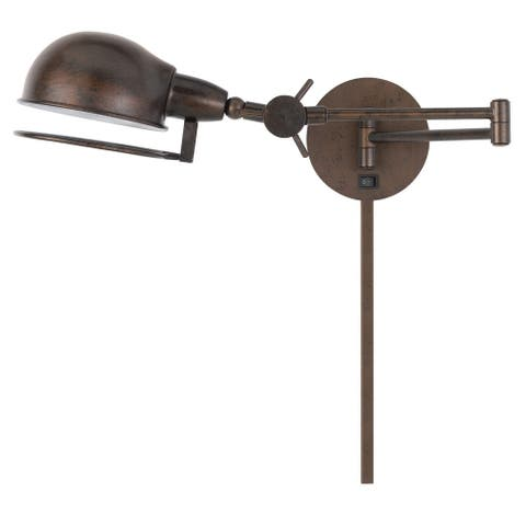 Linthal Swing Arm Wall Lamp - Rust