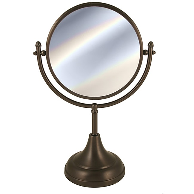 Allied Brass Solid Brass Vanity Makeup Mirror