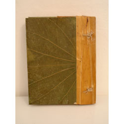 Handmade Double Leaf Design Photo Album (Indonesia)