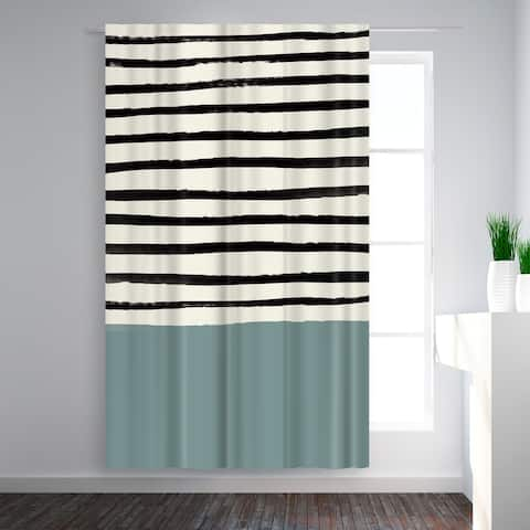River Stone 50x84 Blackout Curtain