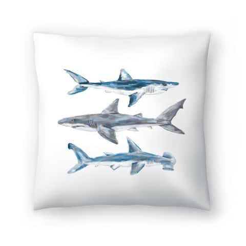 Painted Shark Trio 1