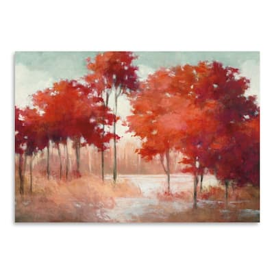 Autumn Lake Poster Art Print