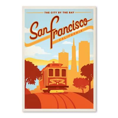 San Francisco Poster Art Print