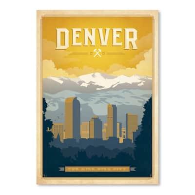 Denver Poster Art Print