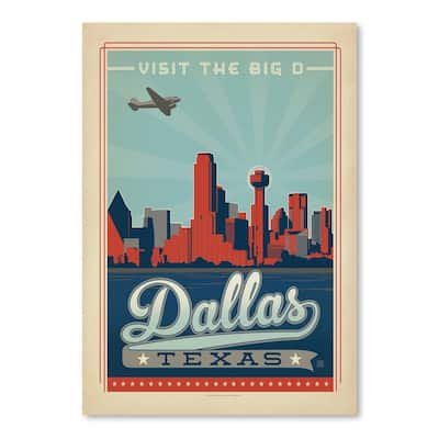 Dallas 2 Poster Art Print