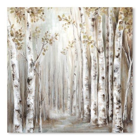 Sunset Birch Forest Iii