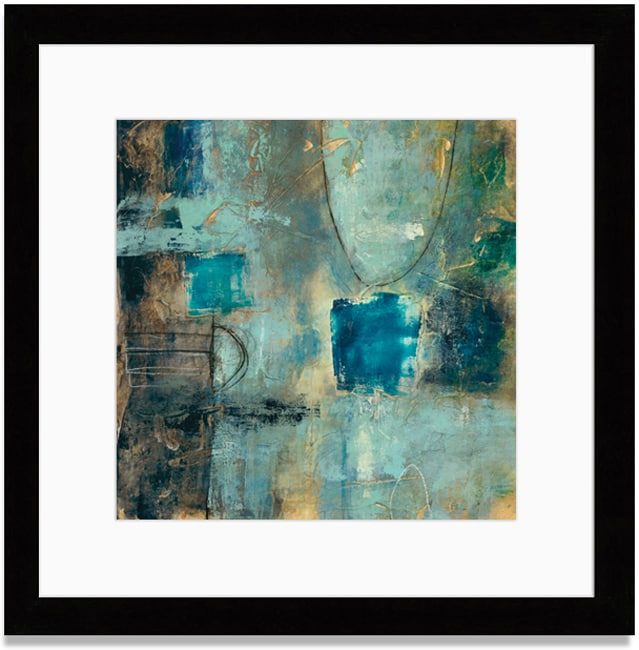 Gallery Direct Bellows 'Tangent Point II' Framed Art Print