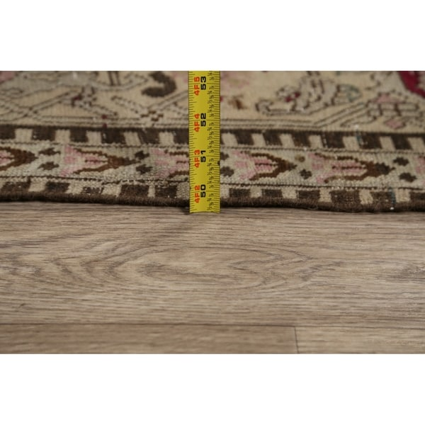 """Pre-1900 Antique Geometric Karabagh Russian Area Rug Hand-Knotted - 7'9"""" x 12'8"""""""