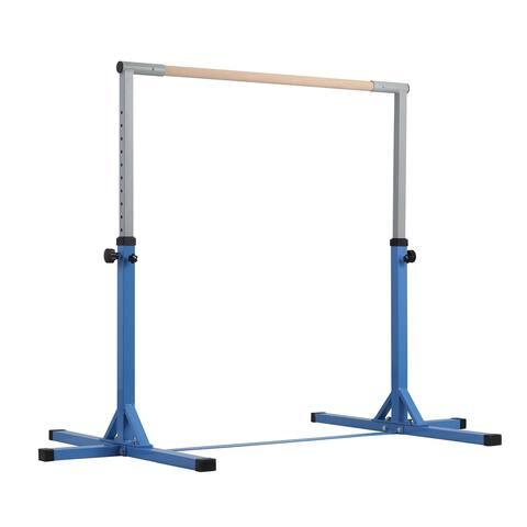 Ainfox Training Bar Horizontal Kip Bar for kid blue