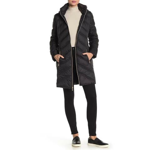 Michael Kors Down's Plus Size Down Packable Coat