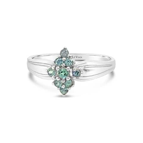 Encore by Le Vian 14K White Gold 1/4 ct Alexandrite Ring