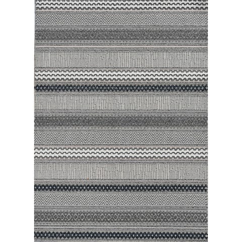 Rodelle Ocean Ombre Outdoor Rug by Havenside Home