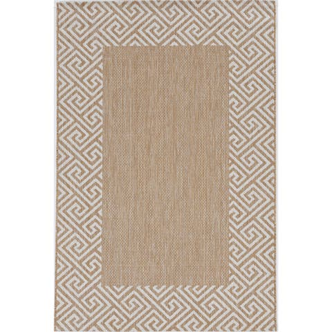 Bovence Global Runes Indoor/Outdoor Rug by Havenside Home