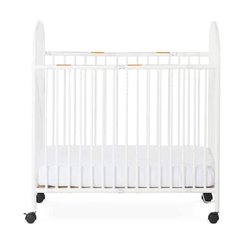 Child Craft Sweet Dreamer Metal Folding Compact Crib