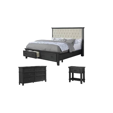 Best Quality Furniture Sandy 3-Piece Bedroom Set