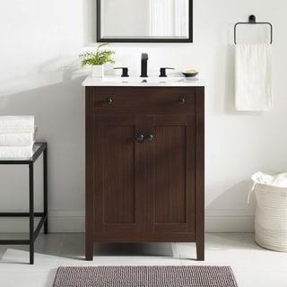 "Link to Nantucket 24"" Bathroom Vanity Cabinet  (Sink Basin Not Included) Similar Items in Bathroom Furniture"
