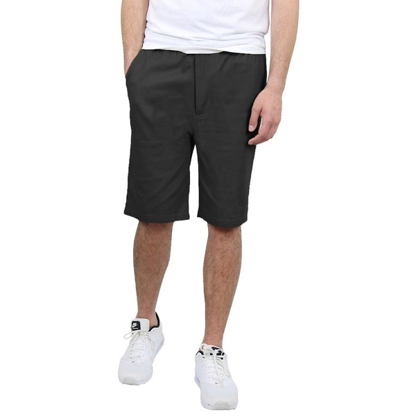 Mens Cotton Chino Shorts With Belt (Sizes 30-42) by  Top Reviews