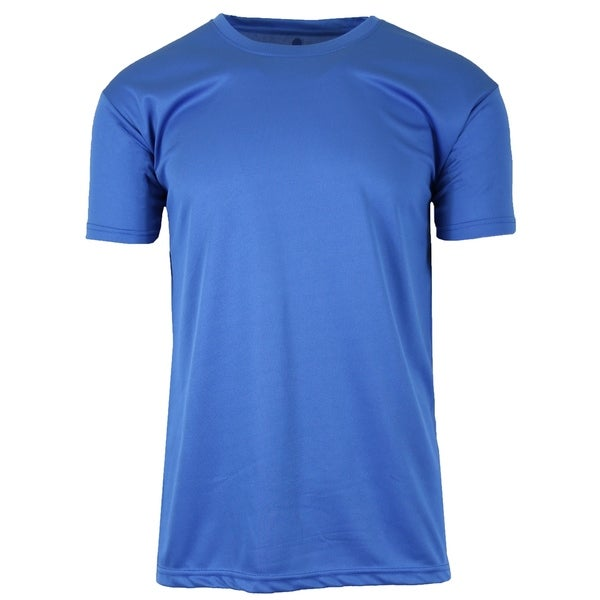 Galaxy by Harvic Mens Moisture-Wicking Wrinkle Free Performance Tee (S-2XL)