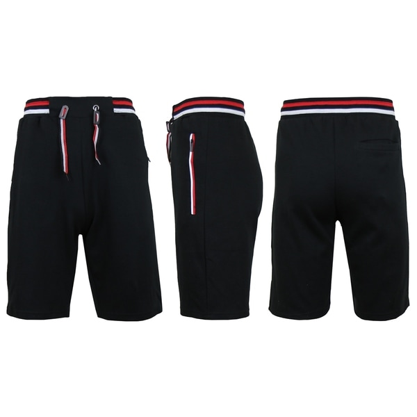Mens Jogger Tech Shorts With Zipper Pockets (S-2XL) by  Read Reviews