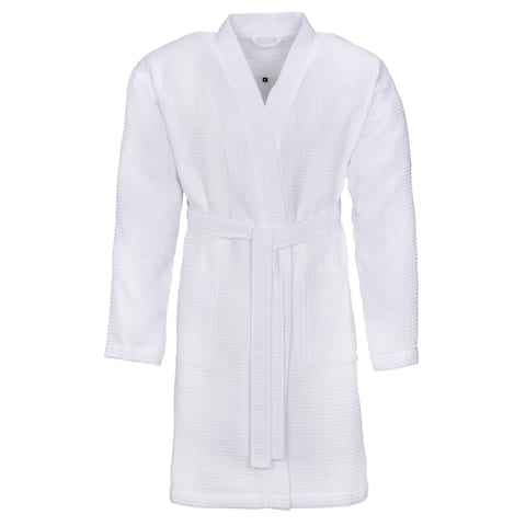 VOSSEN Rome Unisex Bathrobe, Cuddly Dressing Gown, Comfortable Loungewear