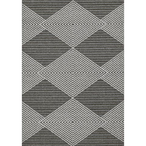 Rodelle Geometric Illusions Outdoor Rug by Havenside Home