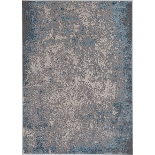 Silver Orchid Monel Natural Contemporary Rug. Opens flyout.