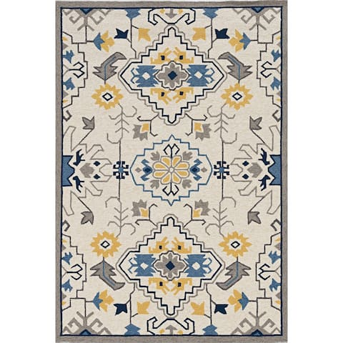 Stonely Tribal Traditions Handmade Rug by Havenside Home