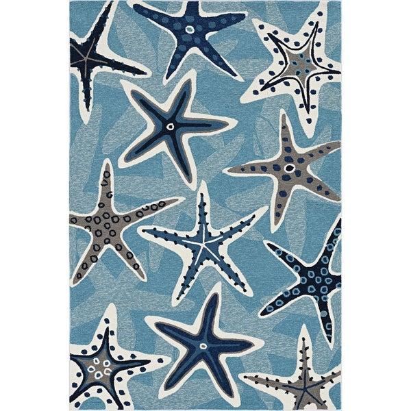 Stonely Starfish Handmade Rug by Havenside Home. Opens flyout.