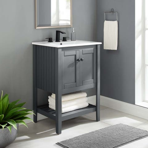 "Prestige 23"" Bathroom Vanity Cabinet (Sink Basin Not Included)"