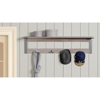 Link to Reclaimed Wood Finish Wall Mount Coat Rack Similar Items in Accent Pieces
