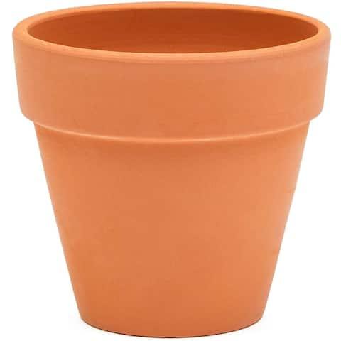 "6x Mini Terra Cotta Terracotta Pots Flower Clay Planters for Succulent Small 4"""
