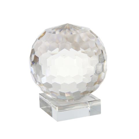 Crystal Orb On Base 7""