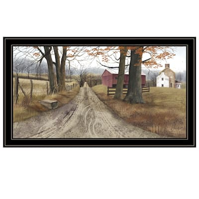 'The Road Home' By Billy Jacobs Framed Print