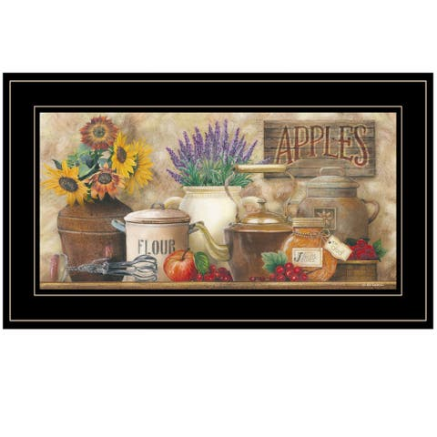 """""""Antique Kitchen"""" By Ed Wargo, Ready to Hang Framed Print, Black Frame"""