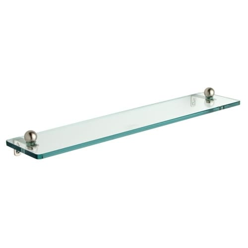 22-inch Tempered Glass Bathroom Shelf