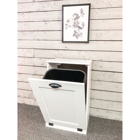 Tilt-out Trash Cabinet - 28.5 in. tall - 10 gal