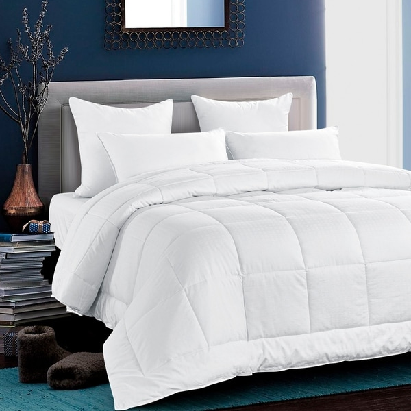 All Season Down Alternative Duvet Comforter with Cotton Cover. Opens flyout.