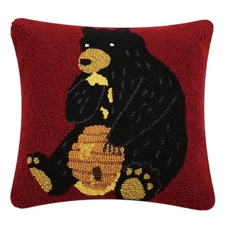 Link to Bear Eating Honey Hook Pillow Similar Items in Decorative Accessories