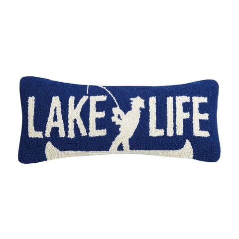 Lake Life Hook Pillow