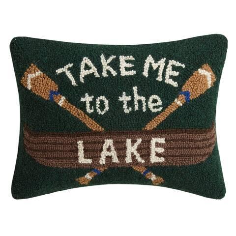 Take me to the Lake Hook Pillow