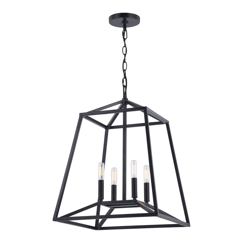 Shop Black Friday Deals On Hayes Black Farmhouse Open Cage Indoor Outdoor Pendant Lantern Overstock 31047837