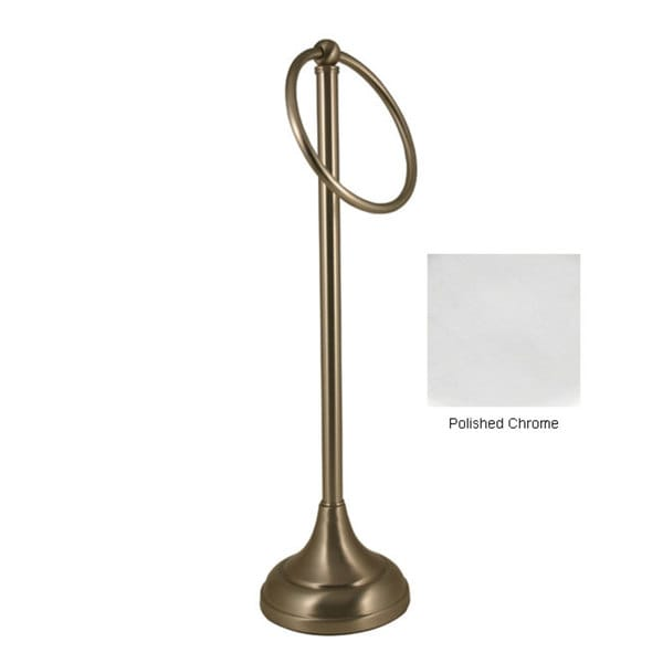 Brass Countertop Guest Towel Holder