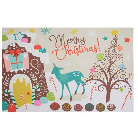 Christmas Photography Backdrop Photo Booth Studio Background for Party 5 x 7 ft